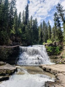 Ousel Falls, one of the best things to do in Big Sky Montana