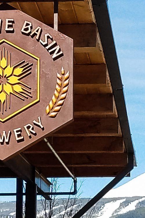 Beehive Basin Brewery, one of several Big Sky breweries