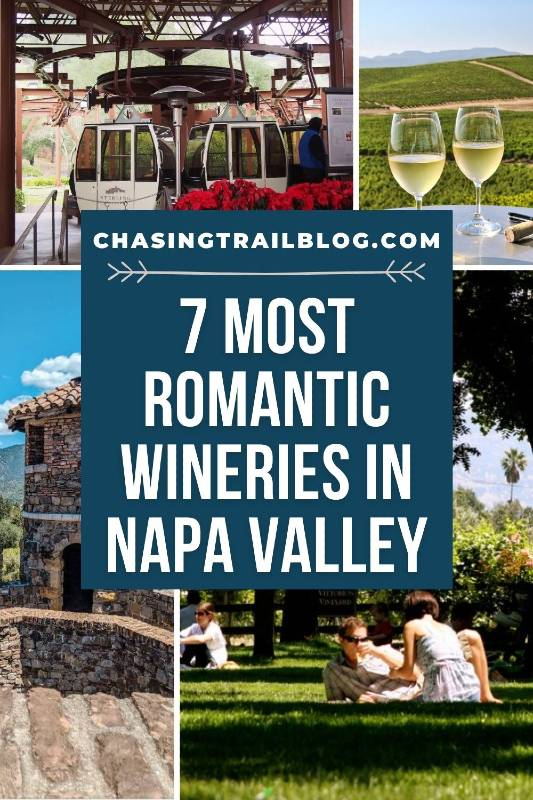 Photos of four of the most romantic wineries in Napa