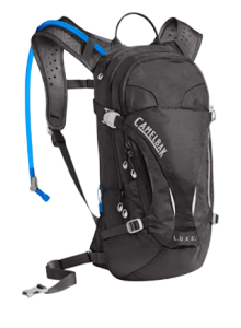 The female-specific CamelBak L.U.X.E., the best hydration pack for mountain biking