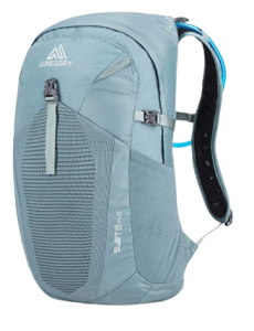 Gregory Swift 15 hydration pack, one of the best hydration packs for hiking