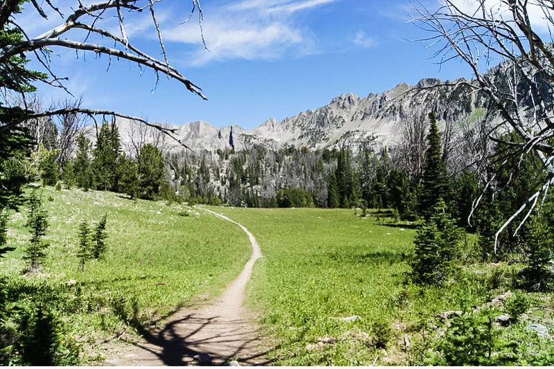 Beehive Basin Trail, one of the best hikes in Big Sky Montana