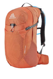Arroyo Orange Gregory Juno 24, one of the best hydration packs for women