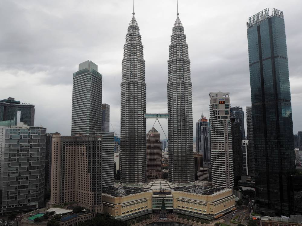 The Petronas Twin Towers and other buildings in Malaysia, one of the most underrated countries