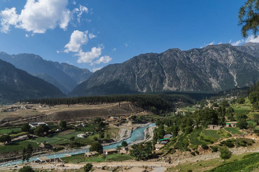 Swat Valley and the surrounding mountains in Pakistan, one of the world's most underrated countries