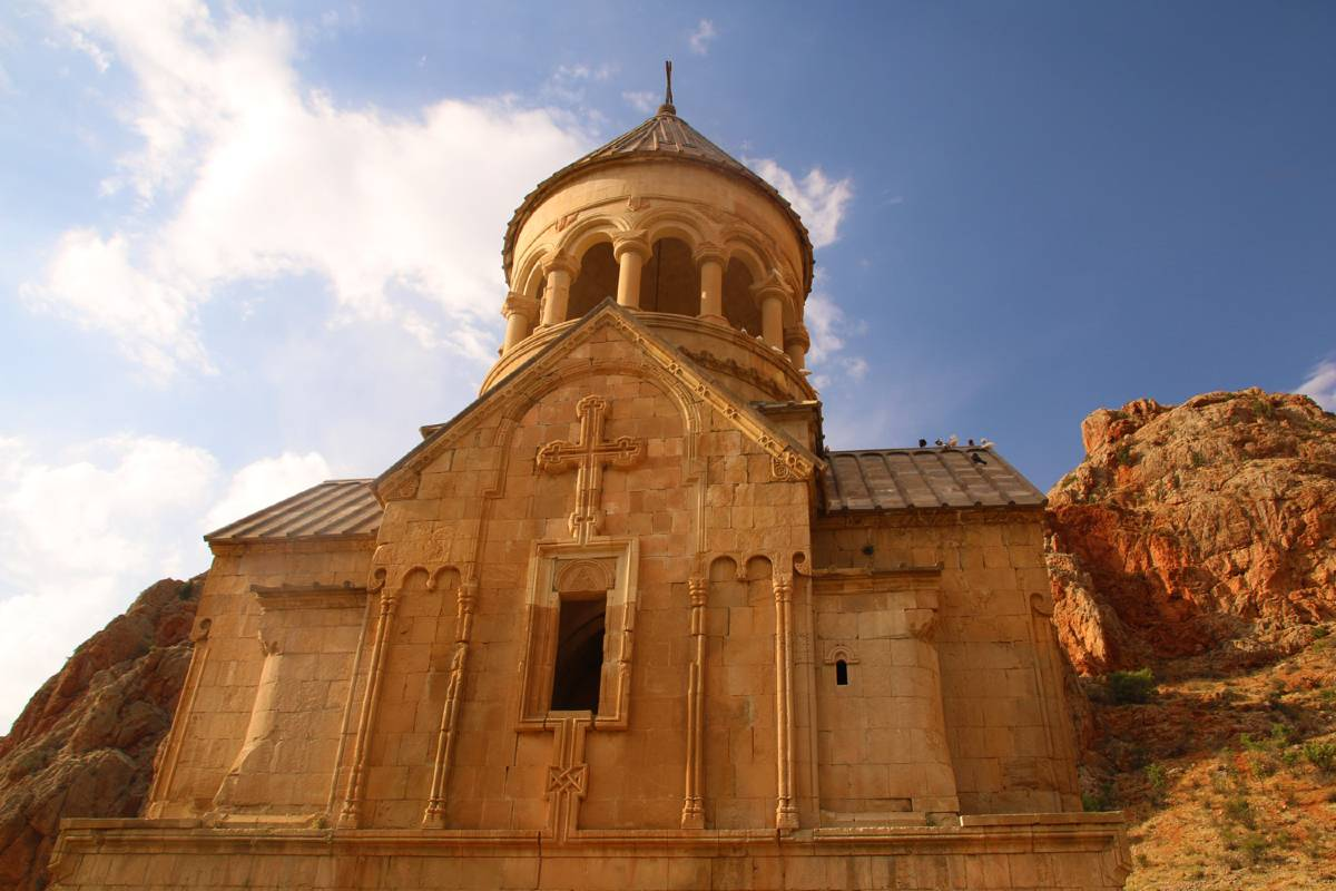 A monastery in Armenia, one of the most underrated countries to visit in the world