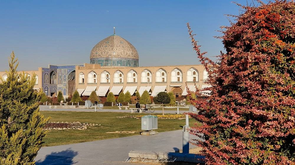 A mosque in Iran, one of the best underrated travel destinations